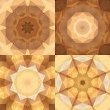 Abstrakta färgrika modeller för kalejdoskop Arkivbild