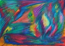 Abstrakta färgrika varelser vektor illustrationer