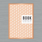 Abstrakta falowy tło dla Książkowej pokrywy, plakat, ulotka, broszurka, Korporacyjna, sprawozdanie roczne projekta układu szablon Zdjęcia Royalty Free