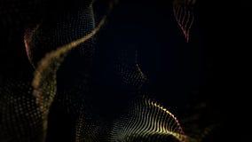 Abstrakta falowy tło zbiory