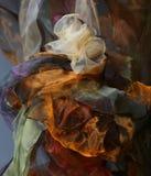 Abstrakta falowy tła organza Obraz Stock