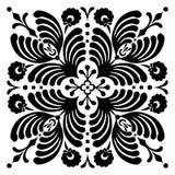 Abstrakta fyrkantiga ungerska motiv Royaltyfri Bild