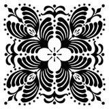 Abstrakta fyrkantiga ungerska motiv Arkivfoton