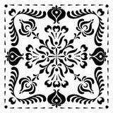 Abstrakta fyrkantiga ungerska motiv Royaltyfri Foto