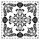Abstrakta fyrkantiga ungerska motiv Royaltyfri Fotografi