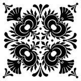 Abstrakta fyrkantiga ungerska motiv Royaltyfria Bilder