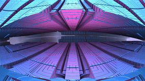 abstrakta geometriska former 3d Royaltyfri Foto