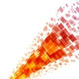Abstrakta geometriska fyrkantlinjer bakgrund Fotografering för Bildbyråer