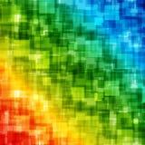 Abstrakta geometriska fyrkantlinjer bakgrund Arkivfoton