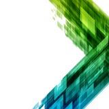 Abstrakta geometriska fyrkantlinjer bakgrund Arkivbild