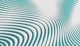 Abstrakta geometriska kurvblått och vit på bakgrund royaltyfri illustrationer
