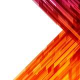 Abstrakta geometriska linjer bakgrund Arkivfoto