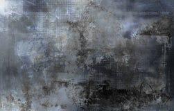 Abstrakta grå färgformer, texturer och modell stock illustrationer