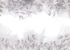 Abstrakta gråa fläckar på vit bakgrund royaltyfri illustrationer