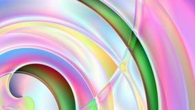 Abstrakta graniastosłupa Ślimakowaty tło Fotografia Royalty Free