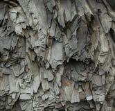 Abstrakta Gray Volcanic Rock Texture Background Arkivbild