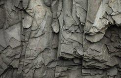 Abstrakta Gray Volcanic Rock Texture Background Royaltyfria Foton