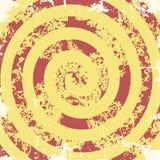 Abstrakta grunge wzoru ślimakowaty tło wektor Zdjęcia Stock