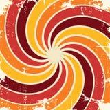 Abstrakta grunge wzoru ślimakowaty tło wektor Obrazy Stock