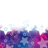 Abstrakta gwiazdowy tło Zdjęcia Royalty Free