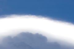 Abstrakta himmellagerblått/ljust moln/skuggamoln Arkivfoton