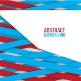 Abstrakta idérika linjer bakgrund Arkivfoto