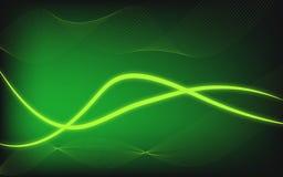 Abstrakta jarzeniowy nowo?ytny t?o z gradien zielonego temat royalty ilustracja