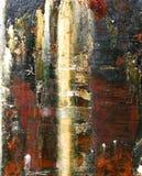 Abstrakta kamienia woda stubarwna zdjęcia royalty free