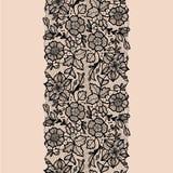 Abstrakta Koronkowy faborek Obraz Royalty Free