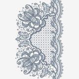 Abstrakta Koronkowy faborek ilustracja wektor