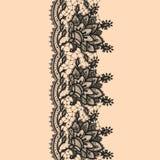 Abstrakta Koronkowy faborek royalty ilustracja