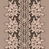 Abstrakta Koronkowy Tasiemkowy Bezszwowy wzór. royalty ilustracja