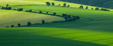 abstrakta krajobrazu Zdjęcia Royalty Free