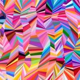 Abstrakta kreskowy multicolor tło ilustracji