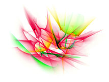 Abstrakta kreskowy ruch różni kolory, krzywy abstrakci col Zdjęcia Stock