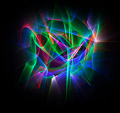 Abstrakta kreskowy ruch różni kolory, krzywy abstrakci col Fotografia Stock