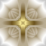abstrakta krzyż Obrazy Stock