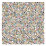 Abstrakta kwadrata odosobniony tło Zdjęcie Stock