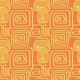 Abstrakta kwadrata wzoru spirala Zdjęcia Stock