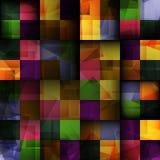 Abstrakta kwadratowy bezszwowy tło Zdjęcia Royalty Free