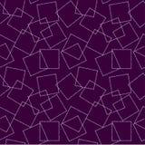 Abstrakta kwadratowy dekoracyjny batikowy bezszwowy wzór Obraz Royalty Free