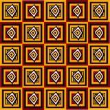 abstrakta kwadraty wzoru Obraz Royalty Free