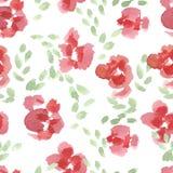 Abstrakta kwiatu Różany wzór Obraz Stock