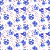 Abstrakta kwiatu Różany wzór Zdjęcie Royalty Free