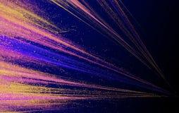Abstrakta laserstrålar med ilsken blickgnistor och stjärnor Royaltyfria Foton