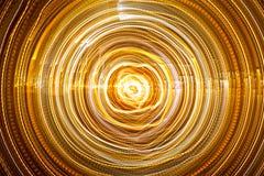 Abstrakta Lekki tunel Obraz Royalty Free