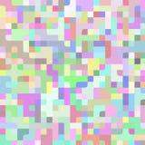 Abstrakta lekkiego kolorowego wektorowego piksla technologii horyzontalny tło Biznesowy tło z pikslami Pixelated wzór Fotografia Stock