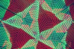 Abstrakta linjer med geometriska former Linjer som skapas med ljus arkivfoto