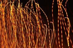 Abstrakta ljus  Arkivfoton