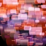 Abstrakta ljus, suddig abstrakt modell Arkivfoto